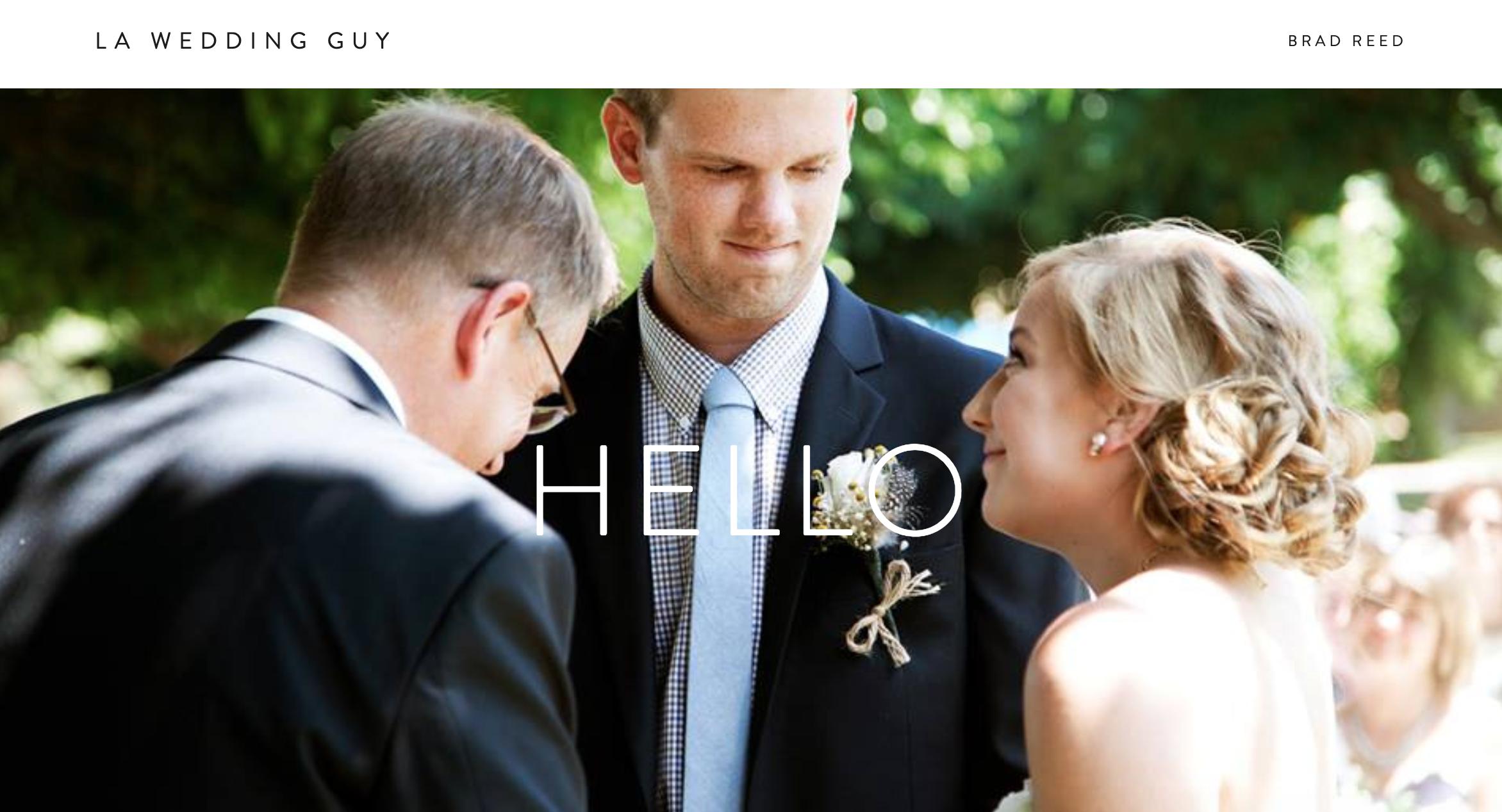 LA Wedding Guy Wedding Officiant Los Angeles