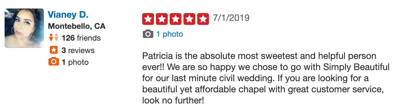Simply Beautiful Civil Weddings Wedding Officiant Reviews Los Angeles